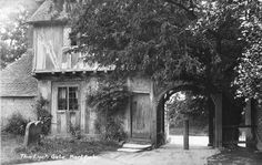 The Lych Gate - c 1920