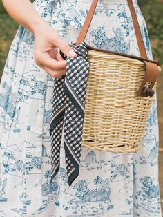 Must-have straw bags this spring