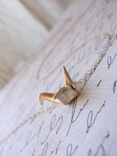 Cute necklace!  Sweet and simple.