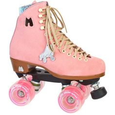 Moxi Lolly Roller Skates ($279) ❤ liked on Polyvore featuring shoes