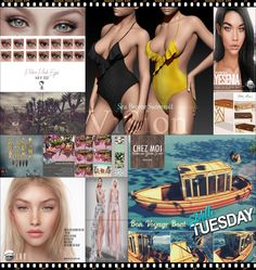 """TIME FOR  HELLO TUESDAY! JUST ONE DAY FOR 50L$ AND 50% OFF SALE DEALS! Find all info and direct SLurls @ http://cosmopolitansl.blogspot.com/2018/07/hello-tuesday-220-store-list-for-3rd.html """"Hello Tuesday is weekly discount event with Cosmo stores, direct SLurls to every item you can find next to each vendor picture."""" Enjoy!"""