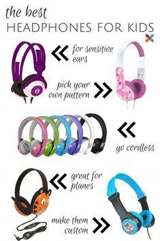 Best Headphones for Kids #AwayWeGo Summer Travel Gear for Kids