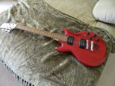 Red Ibanez GAX 70 Electric Guitar