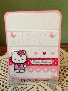 Hello Kitty card for Jenna