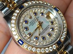 An Alpha Man's Guide To Ornament His Look Sapphire and Diamond bezel