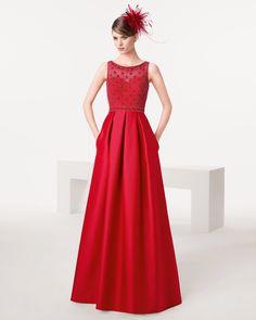 Dresses Dresses 13 Y Imágenes Rojos Mejores Elegant Evening De wq0q4aFX
