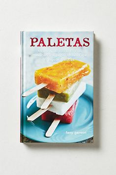 Paletas #anthropologie this one has been on my list for two years, guess I better get it!
