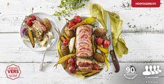Elke dag gehaktdag met dit recept voor gehaktbrood met fazant #lekkerlidl #kiesherfst Ketchup, Lchf, Sausage, Meat, Food, Beef, Eten, Meals
