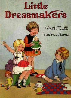 niñas costureras :). with dolls