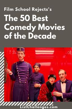 Film School Rejects's the 50 Best Comedy Movies of the Decade Note that this list is entitled Popular Comedy Movies, Hollywood Comedy Movies, Comedy Movie Quotes, Comedy Movies For Kids, Classic Comedy Movies, Comedy Movies On Netflix, Action Comedy Movies, Romantic Comedy Movies, Classic Comedies