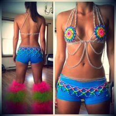 She is very brave. I could alter it to suit my bigger chest though! Love the back! Kandi bra and skirt by bre5013 - Kandi Photos on Kandi Patterns                                                 music download sites