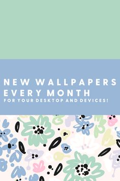Watch your desktop and devices bloom with an exclusive new wallpaper every month along with other special gifts and rewards! New Wallpaper, Special Gifts, The Creator, Desktop, Ipad, Bloom, Wallpapers, Iphone, Watch