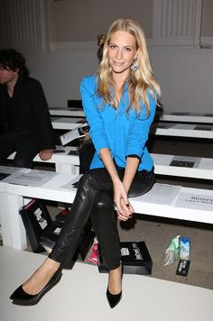 Poppy Delevingne - LFW: Front Row at Pinghe