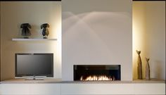 Fireplace with entertainment