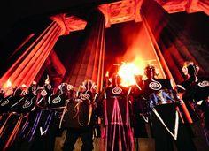 Beltane Fire Festival on Calton Hill in Edinburgh, Scotland #festivals #pagan #wicca #celta #druidism