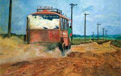 Expreso 32 horas Acrílico sobre lienzo/90x150 cm/ 2014 $2.760.000 Cómpralo en #MambeShop VENDIDO