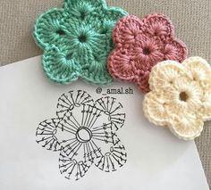 Square flor filé