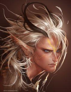 Griffin Boy by sakimichan.deviantart.com on @DeviantArt