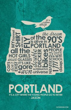 Portlandia (2011–) ~ TV Series Quotes Poster by Stephen Poon #amusementphile