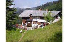 Österreichs Almhütten für Wanderfreunde: Gerach-Haus, Rankweil am Dünserberg Foto: Naturfreunde Österreich