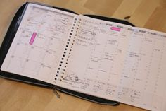 A5バインダー手帳術☆ウィークリーページでToDoと時間管理[無料ダウンロード] – conote Bujo, Planner Template, Bullet Journal Printables, Journal Notebook, How To Make Notes, Clean House, Filofax, Binder, Knowledge