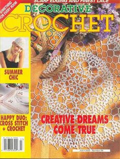 Decorative Crochet Magazines 58 - Gitte Andersen - Album Web Picasa