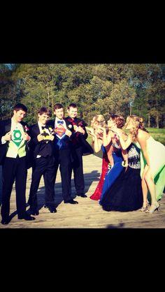 Super Hero prom!