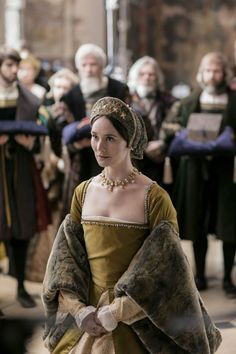 Claire Cooper as Anne Boleyn in 'Six Wives with Lucy Worsley' (2016)