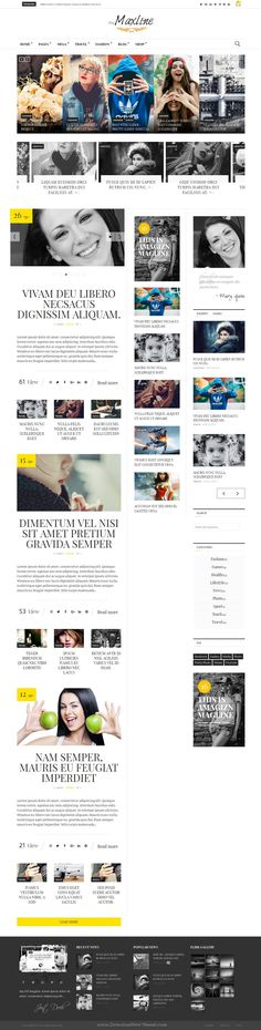 Magline is amazing responsive WordPress #Theme for #News, Magazine or Blogging #website download Now!
