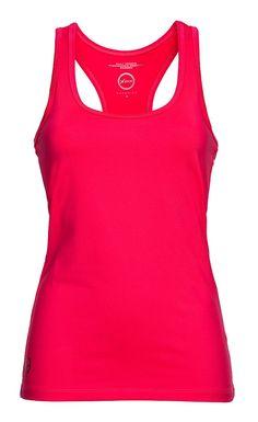 Tank top. Quick dry jersey. Feminine fit. Straight hem. Regular fit. Base #Tank #Sweet #Exercise