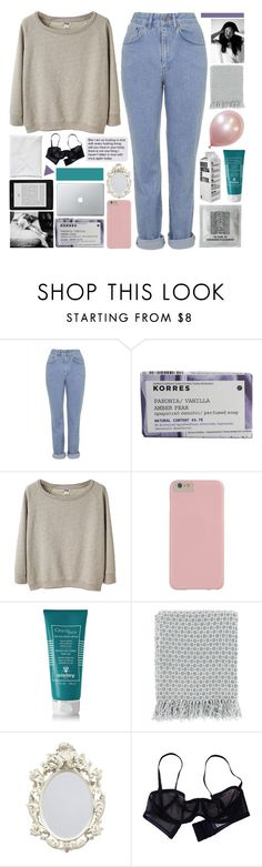 """""""PERFUMED SOAP"""" by half-dust ❤ liked on Polyvore featuring The Ragged Priest, Korres, Acne Studios, Sisley - Paris, Surya, Eres, simple, Sweater, jeans and simpleset"""