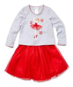 take a look at this gray red nutcracker top skirt infant toddler girls today find this pin and more on kids christmas clothes - Christmas Clothes For Kids