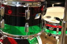 Vintage Ludwig Drums 2 Ludwig Drums, Drum Sets, Snare Drum, Percussion, Guitars, Engine, Instruments, Dreams, Board