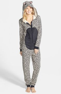 BP. Undercover Animal Jumpsuit (Juniors) available at #Nordstrom