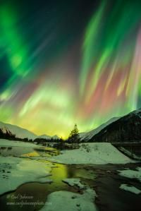 Alaska Aurora taken by C Johnson