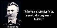No, the masses need simple language Nietzsche Philosophy, Nietzsche Quotes, Philosophy Quotes, Wise Quotes, Quotes To Live By, Cool Words, Wise Words, Science Vs Religion, Philosophical Quotes