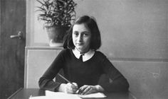 """Perhaps you remember that we have two girls,"" Anne Frank's father wrote to a friend. ""It is for the sake of the children mainly that we have to care for. Our own fate is of less importance."""