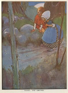 Mabel Lucie Attwell- Hansel and Gretel -