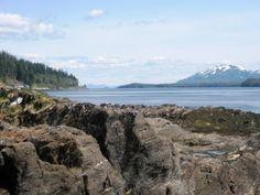 The beaches & mountains in Ketchikan Alaska. Experience Ketchikan Alaska, the salmon capital of the world