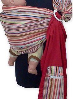 REVERSIBLE ADJUSTABLE baby sling carrier ring sling Multi Color Strip Palm&Pond http://www.amazon.com/dp/B00DB5CAJU/ref=cm_sw_r_pi_dp_0J9qub0CSYHR8