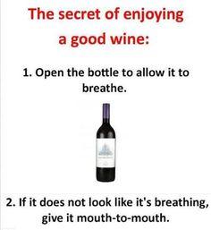 Breathing Wine