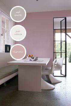 French Inspired Bedroom, Colour Board, Color Palettes, Color Inspiration, Corner Desk, Rose, Interior, Furniture, Home Decor