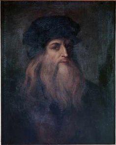 Leonardo da Vinci - Self Portrait - jetzt bestellen auf kunst-fuer-alle.de