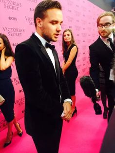 LIAM AT THE VICTORIA'S SECRET SHOW 2014 ♡ on We Heart It
