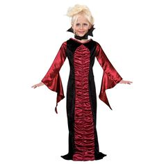The Gothic Vampire Costume For Children is the best 2019 Halloween costume for you to get! Everyone will love this Girls costume that you picked up from Wholesale Halloween Costumes! Kids Costumes Girls, Halloween Costumes For Girls, Girl Costumes, Costume Ideas, Holiday Costumes, Halloween 2015, Halloween Kids, Halloween Party, Vampire Costume Kids