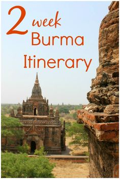 A two-week Burma itinerary (Myanmar itinerary). From Yangon to the ancient temples of Bagan, Inle Lake, colonial Pwin Oo Lwin and Ngapali Beach on the Indian Ocean, there's so much to explore in Burma (Myanmar) with kids Myanmar Travel, Burma Myanmar, Asia Travel, Backpacking South America, Backpacking Europe, Travel With Kids, Family Travel, Amazing Destinations, Travel Destinations