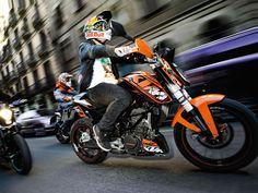 Bajaj KTM Duke 125 Bike