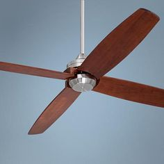 "52"" Casa Vieja Insite™ Brushed Nickel Ceiling Fan"