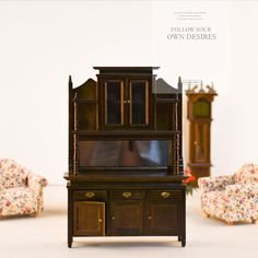 Find More Furniture Toys Information about Doub K 1:12 dollhouse furniture toys wooden miniature fairy cabinet doll house pretend play toy gifts for girls children dolls,High Quality furniture toys,China dollhouse furniture Suppliers, Cheap 1:12 dollhouse from Saier planet on Aliexpress.com