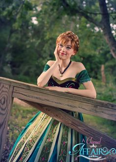 "A Chance by Amouranth.deviantart.com on @DeviantArt - Anna from ""Frozen"""